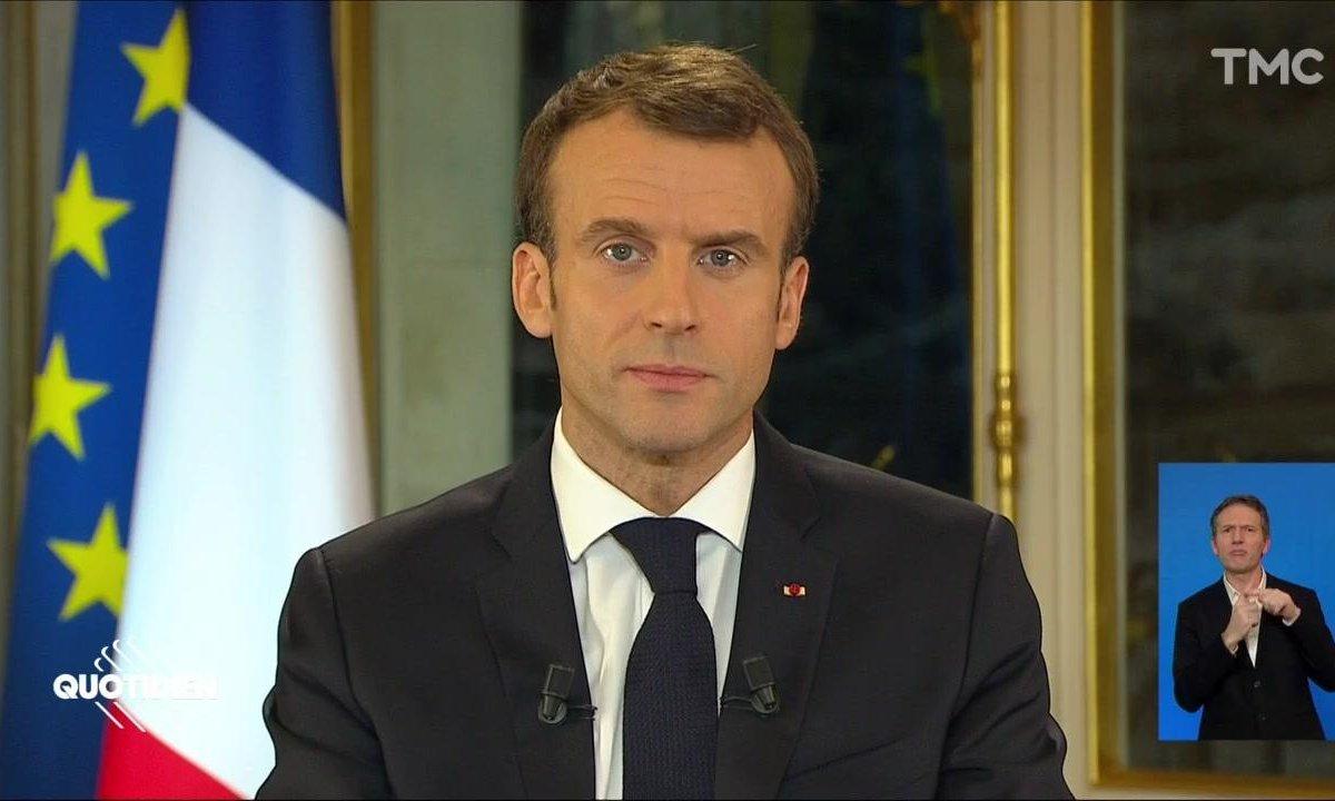 SMIC, retraites, ISF : ce qu'il faut retenir de l'allocution d'Emmanuel Macron