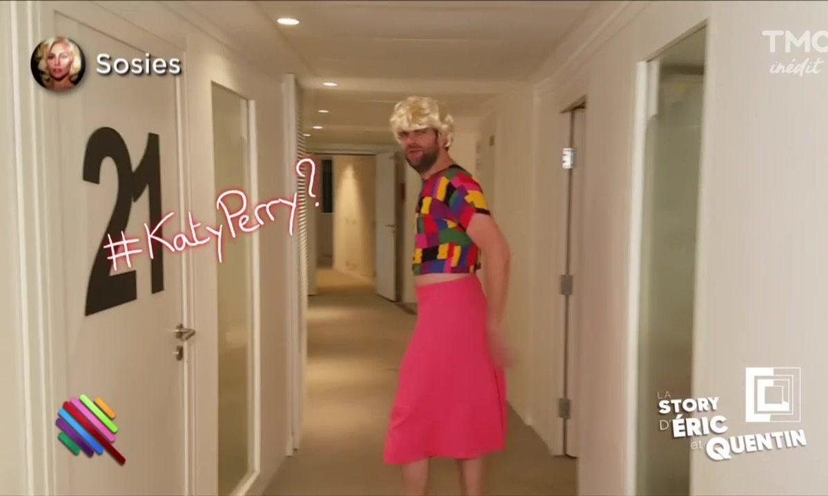 """La Story d'Eric & Quentin : """"Katy Périple aime l'aventure"""""""