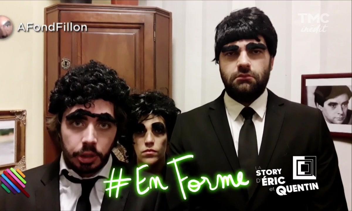 La story d'Eric et Quentin : A fond Fillon !