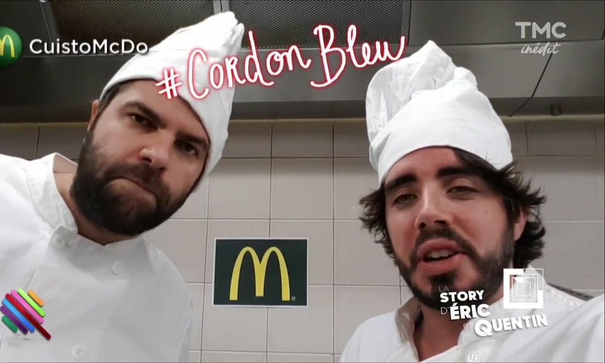 La Story d'Eric et Quentin : Une nouvelle recette chez MacDo