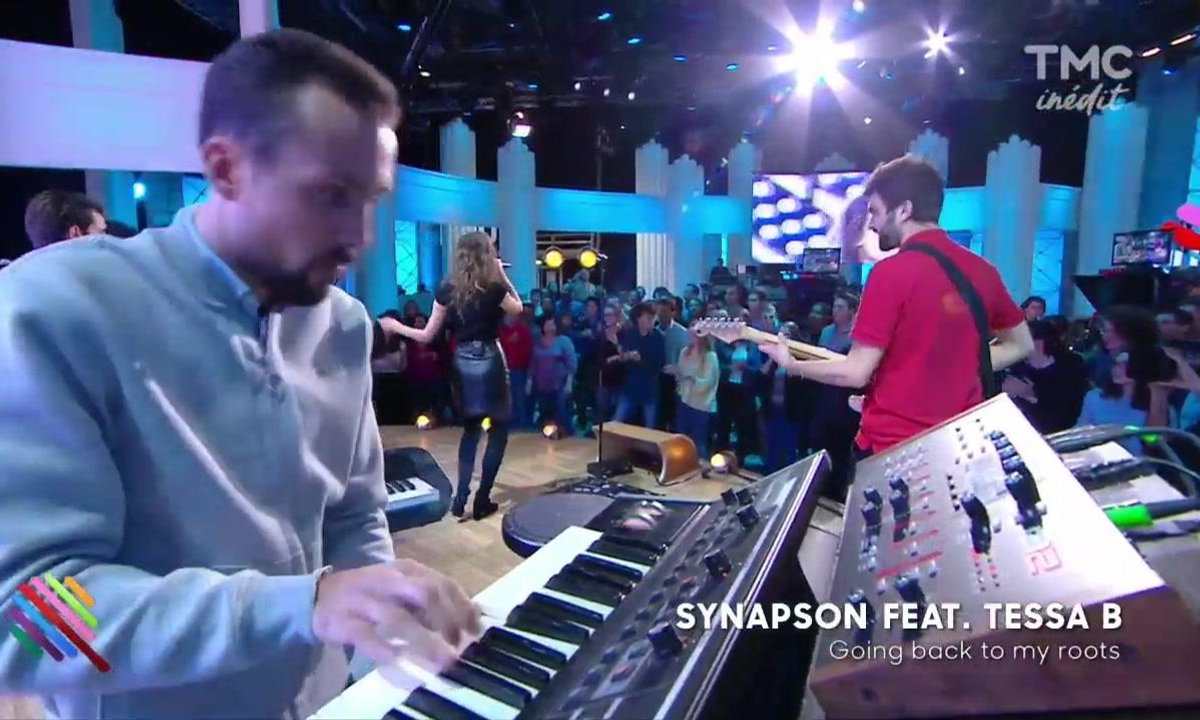 Synapson feat Tessa B - Going back to my roots en live sur Quotidien