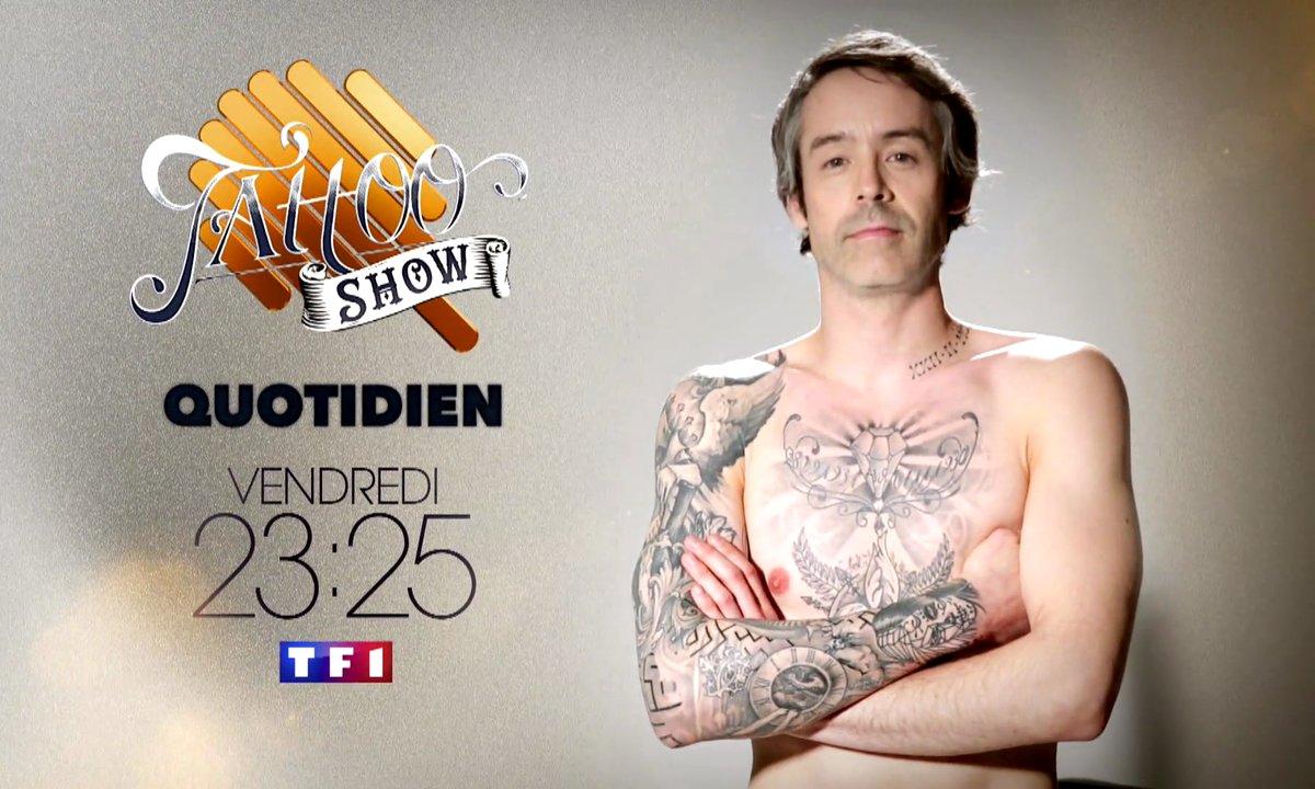 Le Tattoo show avec Yann Barthès et toute son équipe