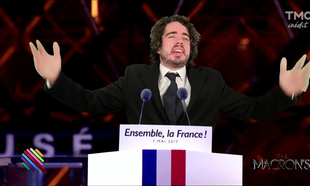 Eric et Quentin : en immersion chez les Macron