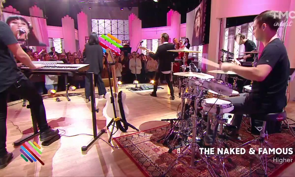 "The Naked and Famous - ""Higher"" sur Quotidien"
