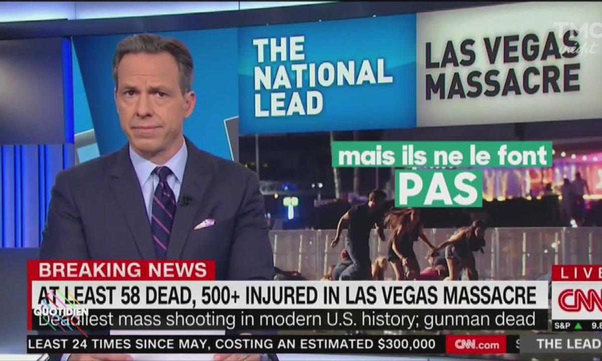 La tuerie de Las Vegas vue par les médias américains