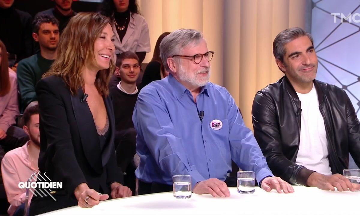 Invités : Zazie, Ary Abittan et Patrice Blanc à J-3 du concert des Enfoirés