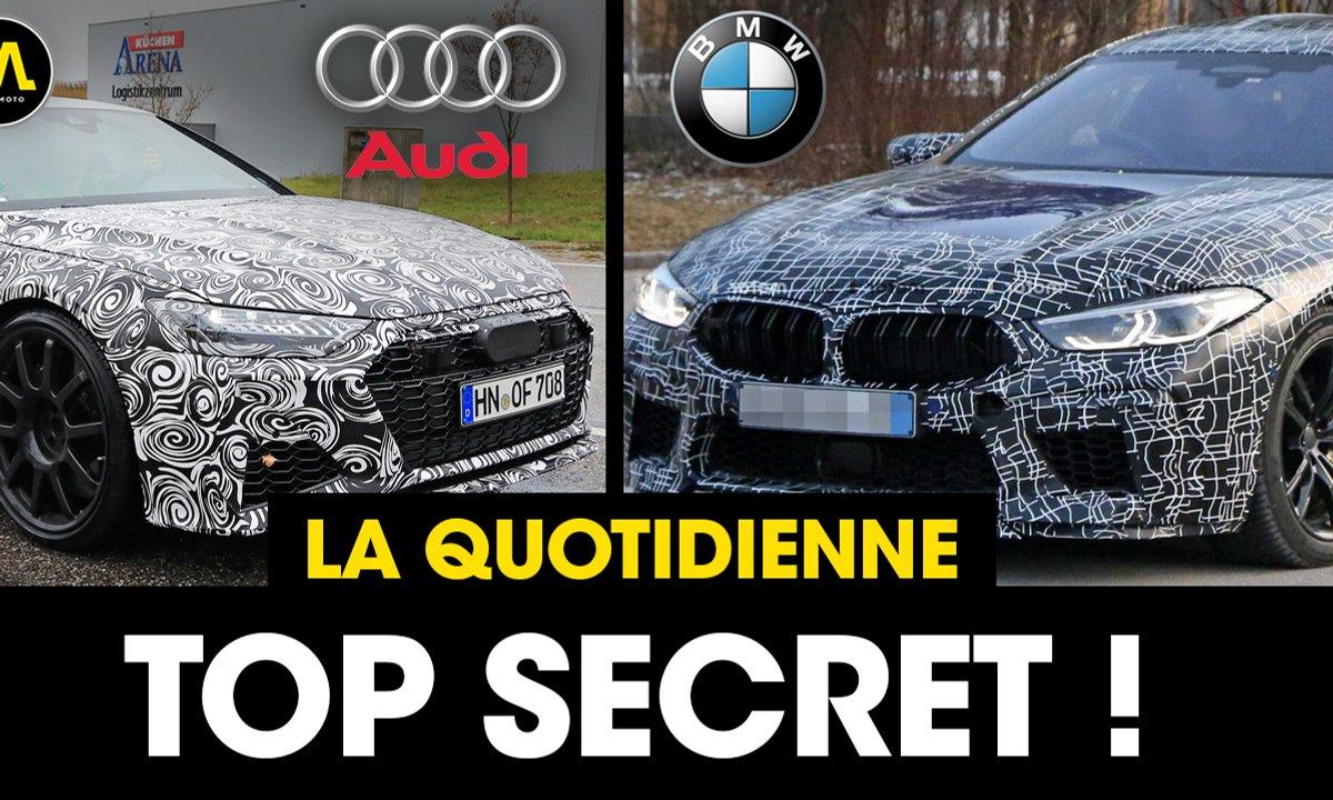 Top Secret : Audi vs BMW - La Quotidienne du 25/04