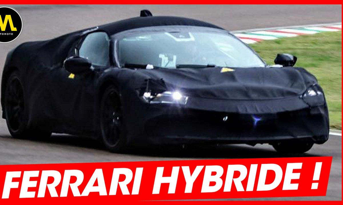 Ferrari hybride ! - La Quotidienne du 17/05