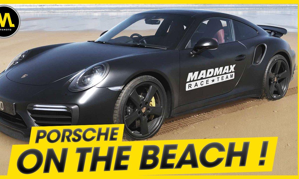 Porsche on the beach ! - La Quotidienne du 03/06