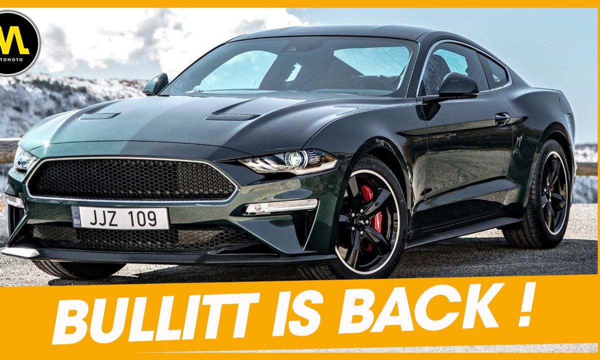 La Mustang Bullitt est de retour ! - La Quotidienne du 27/06