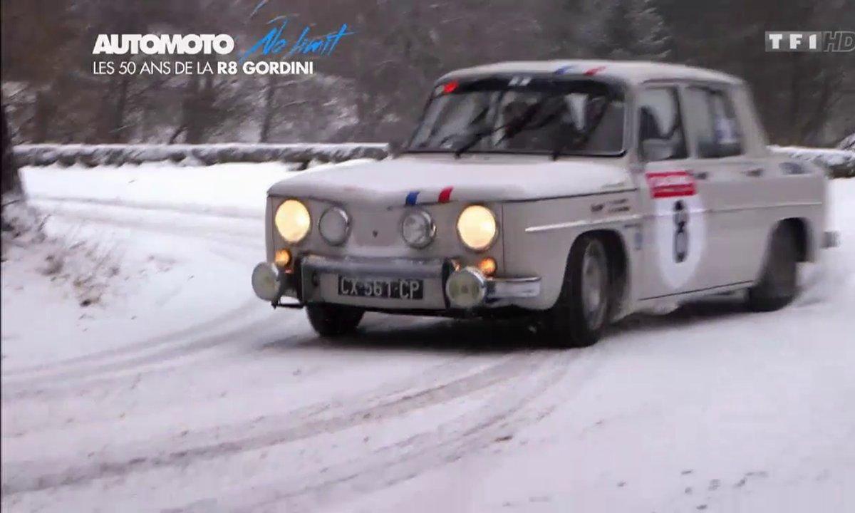 No limit : la R8 Gordini au col du Turini