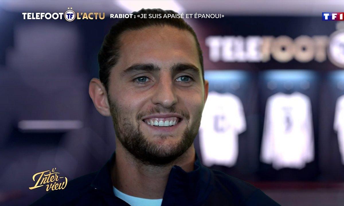 """L'Interview - Rabiot : """"Je suis apaisé et épanoui"""""""