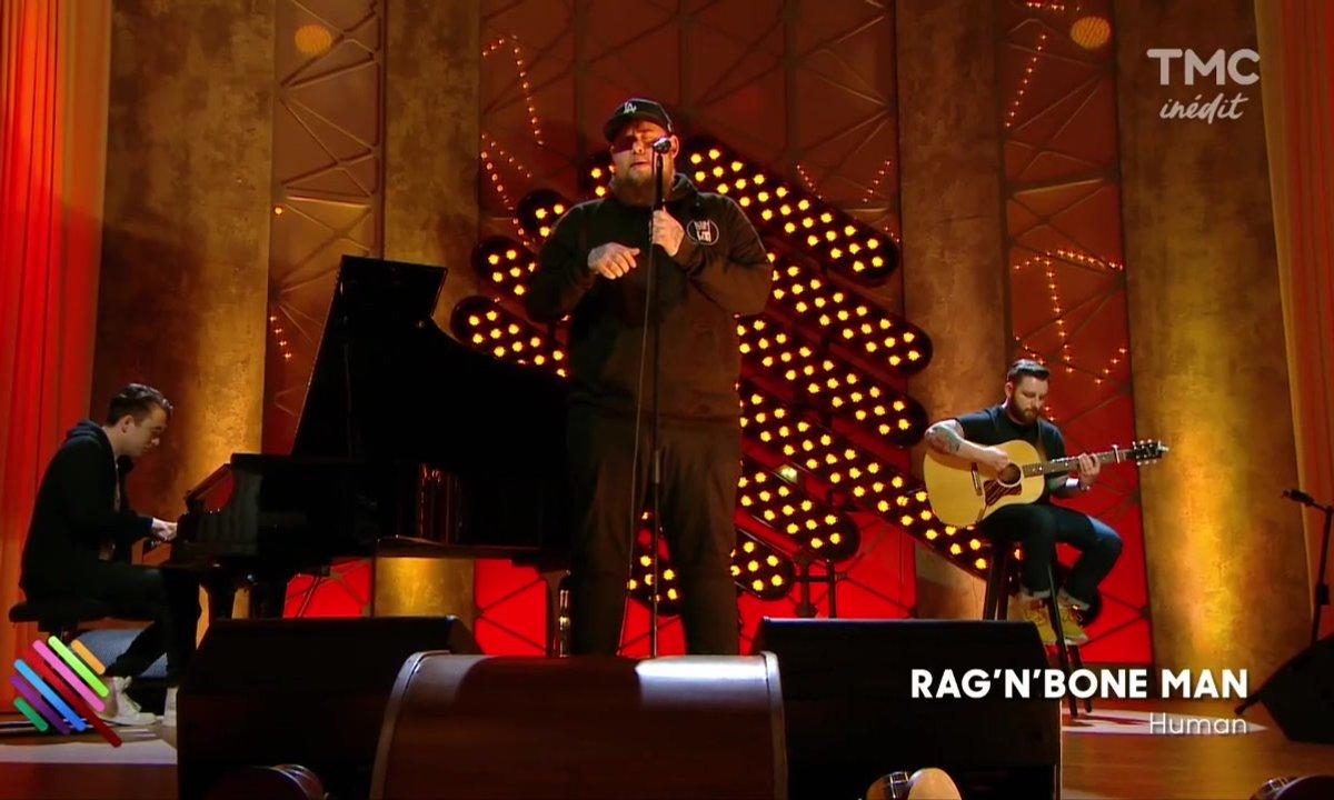 """Rag'N Bone Man - """"Human"""" en live sur Quotidien"""