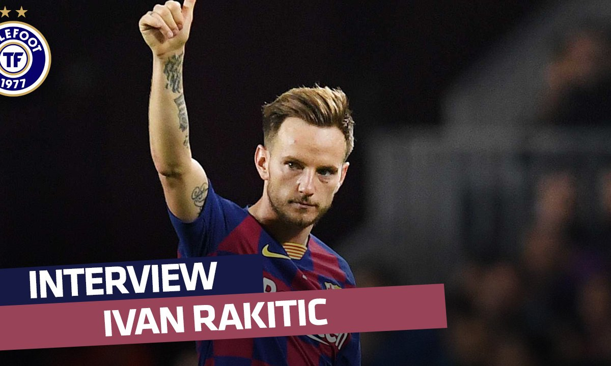 La longue interview d'Ivan Rakitic (FC Barcelone)