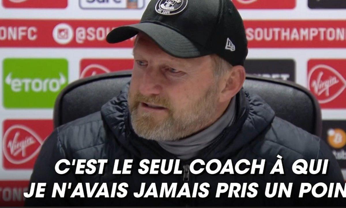VIDEO - Les larmes de l'entraîneur de Southampton après la victoire face à Liverpool
