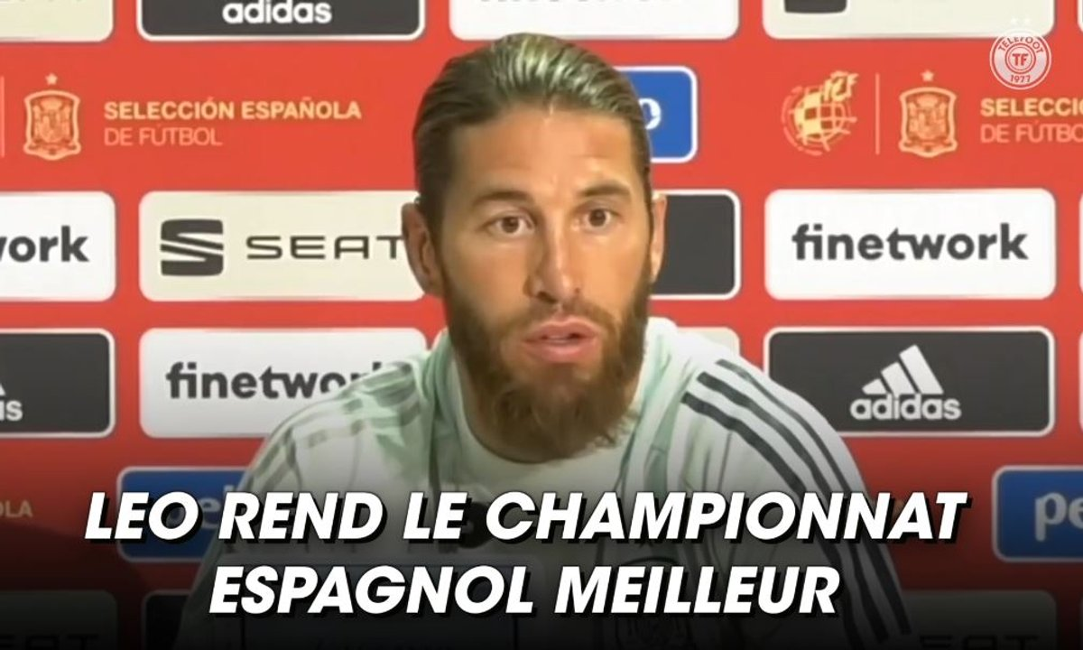 VIDEO - La déclaration d'amour de Sergio Ramos à Messi