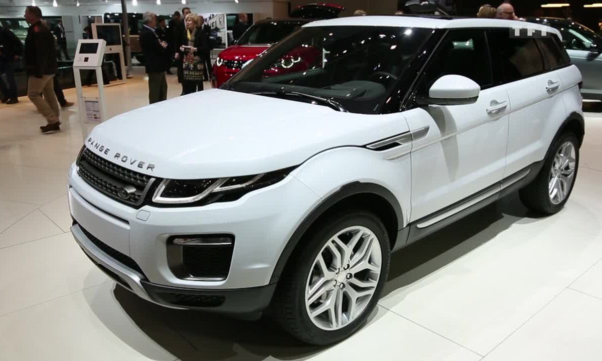 Land Rover restyle le Range Rover Evoque au Salon de Genève 2015