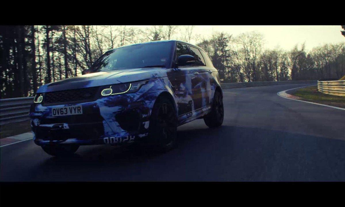 Range Rover Sport SVR 2014 : le prototype au Nürburgring Nordschleife