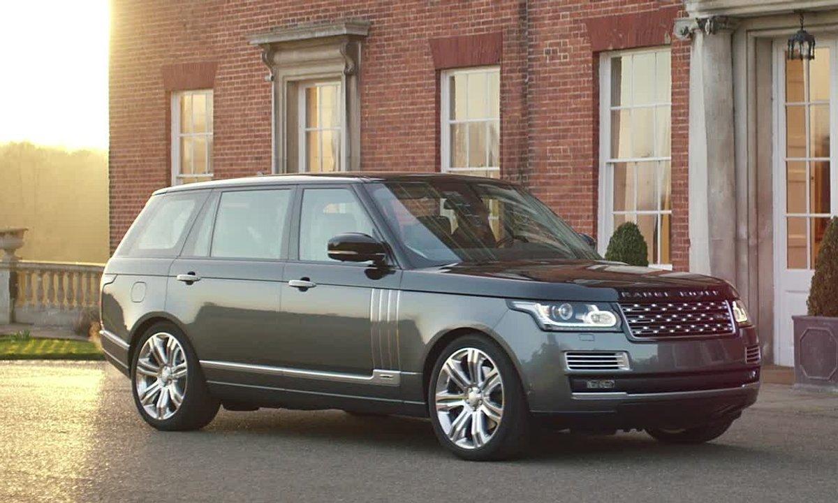 Range Rover SVAutobiography 2015 : présentation officielle