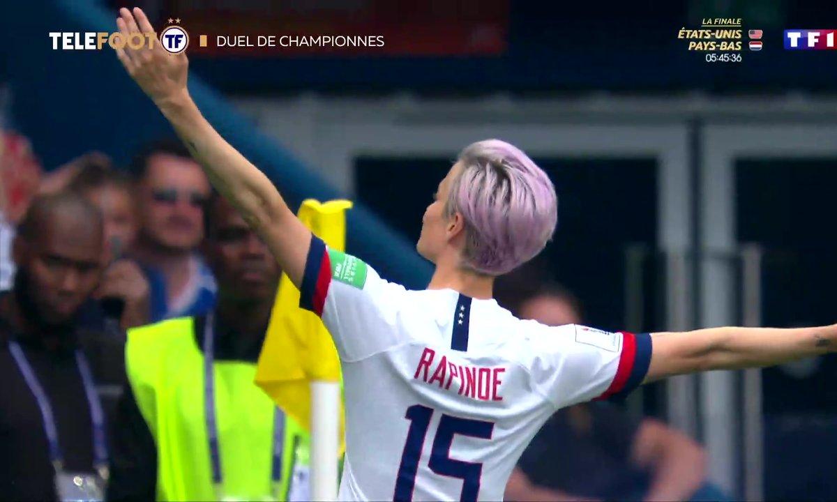 Coupe du monde : États-Unis-Pays-Bas, duel de championnes