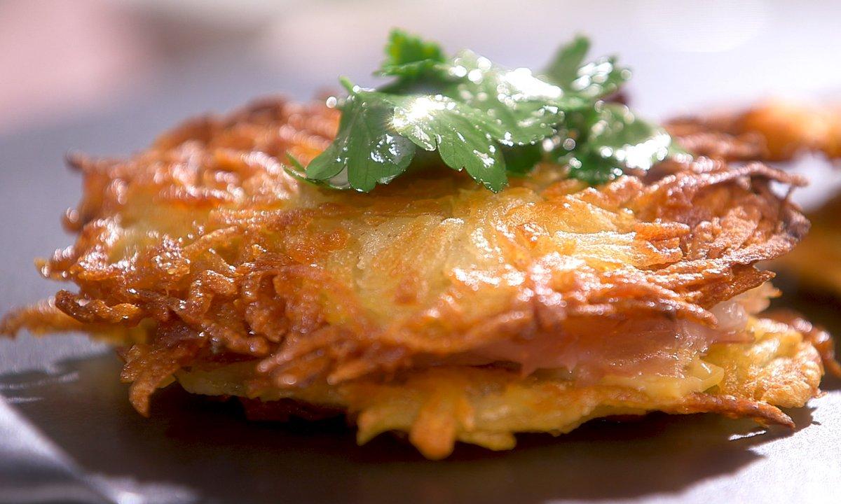 Croque Monsieur A La Poele recette croque-rösti - petits plats en equilibre | tf1
