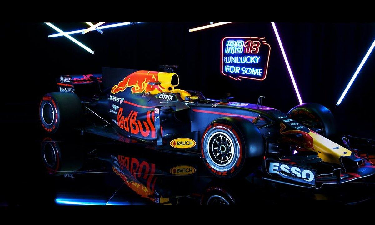 F1 2017 : Présentation de la Red Bull RB13