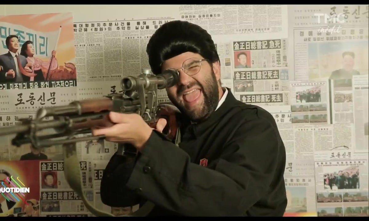 """""""Redoutable"""" en nord-coréen - Eric et Quentin dévoilent la BA"""