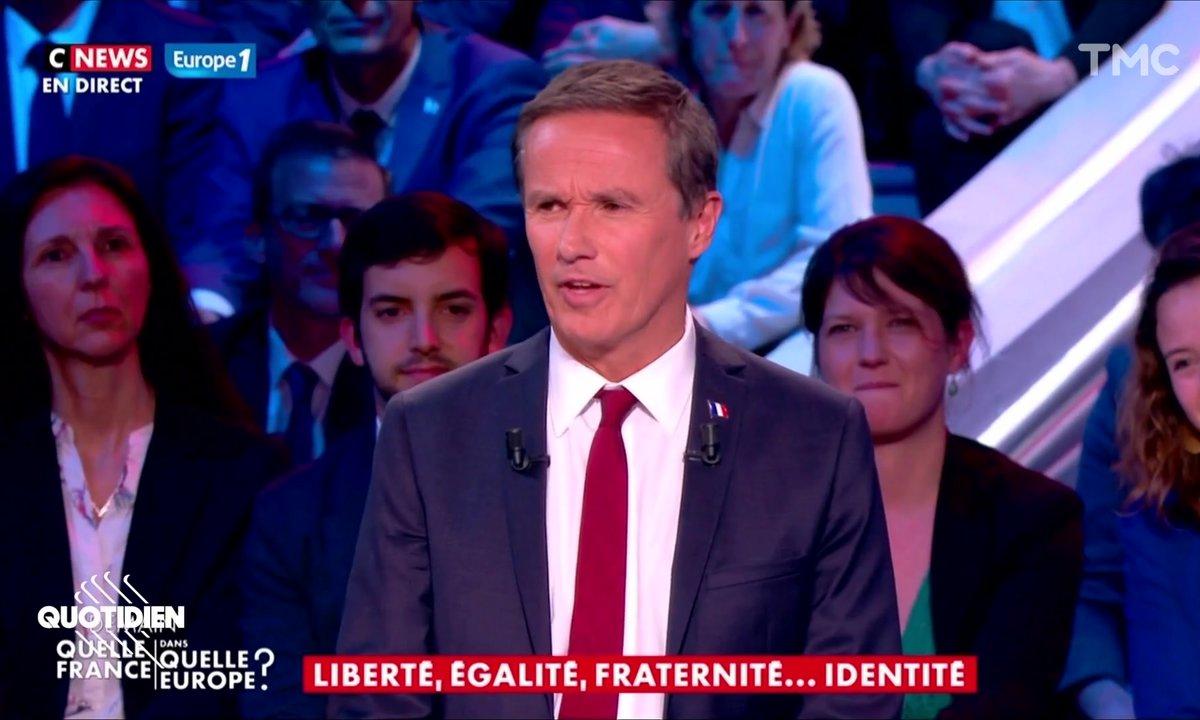 Règle d'or : si Nicolas Dupont-Aignan balance une citation, c'est qu'il l'a inventée