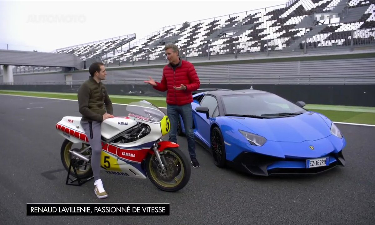 Renaud Lavillenie partage sa passion de la vitesse dans Automoto