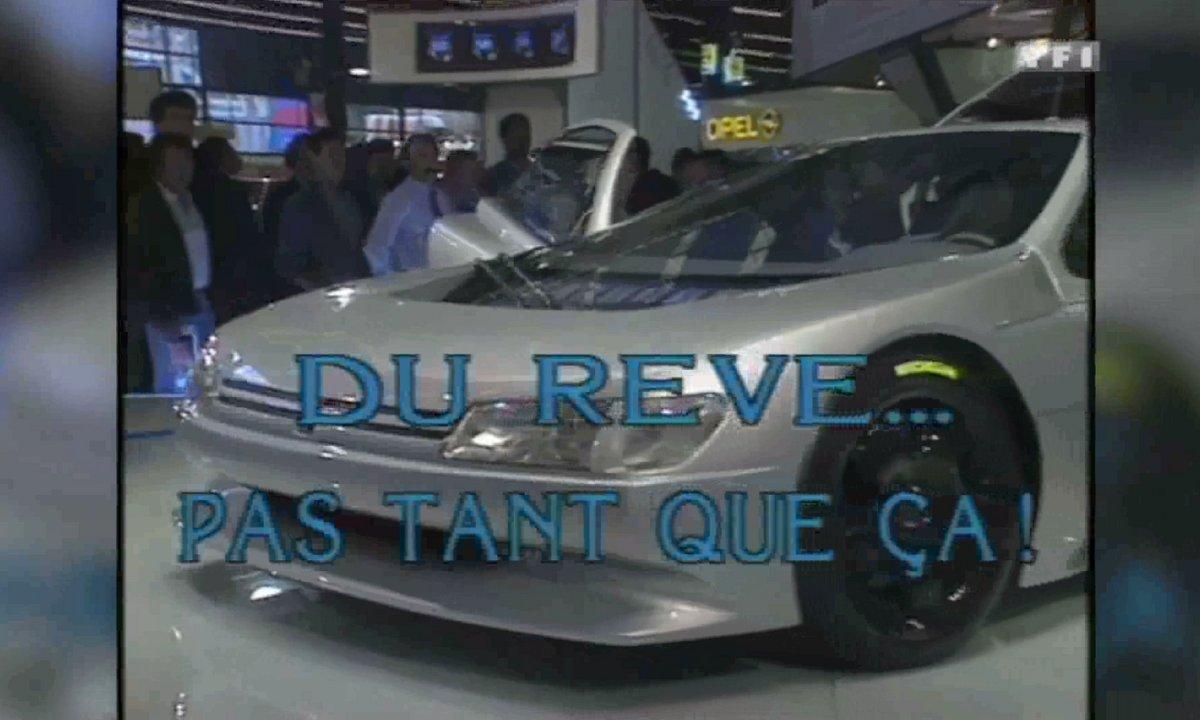 Les concepts français du Mondial de l'Auto – Automoto 9 ocotbre 1988