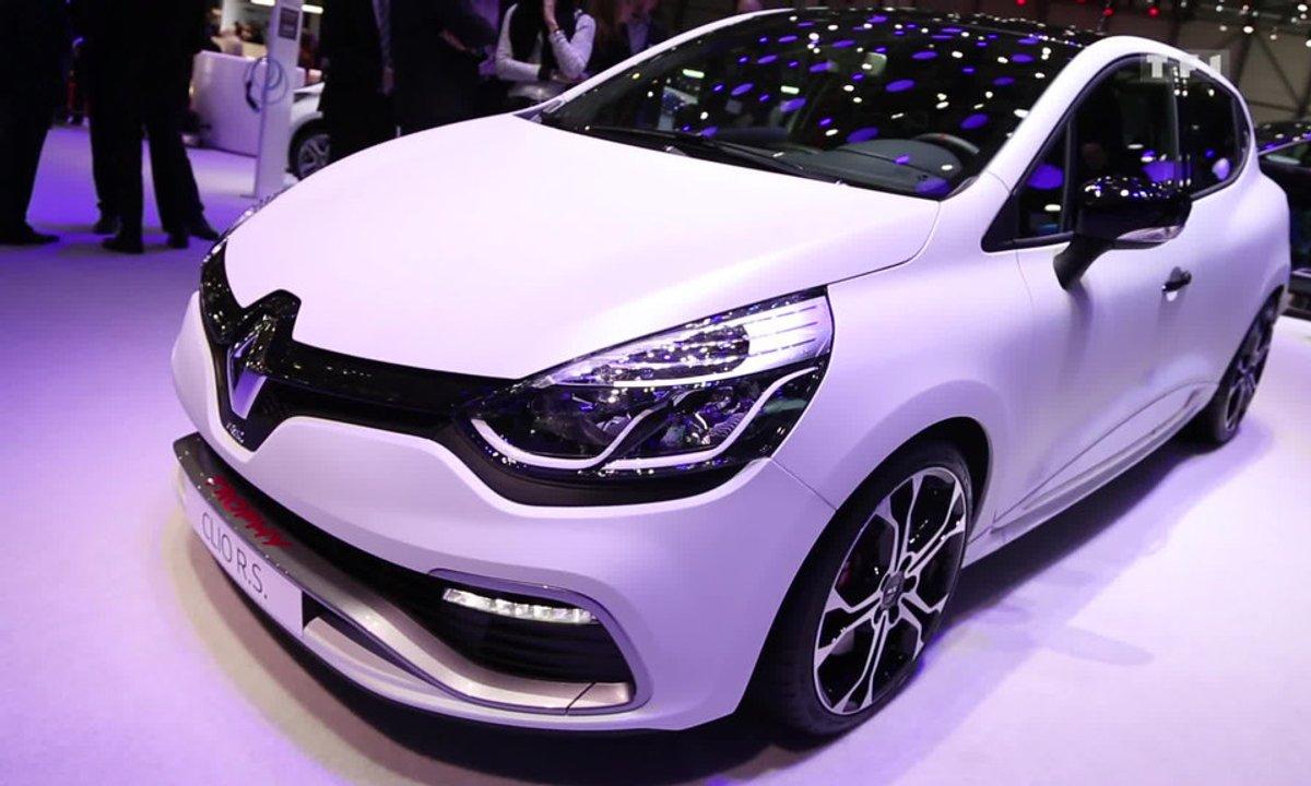 La Renault Clio R.S. 220 Trophy se bonifie au Salon de Genève 2015