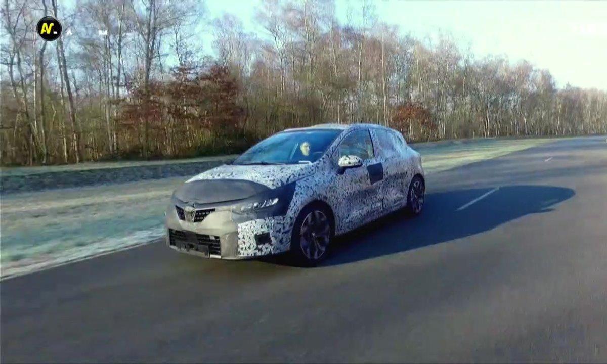 Exclu Automoto : Les premiers tours de roues de la Clio V