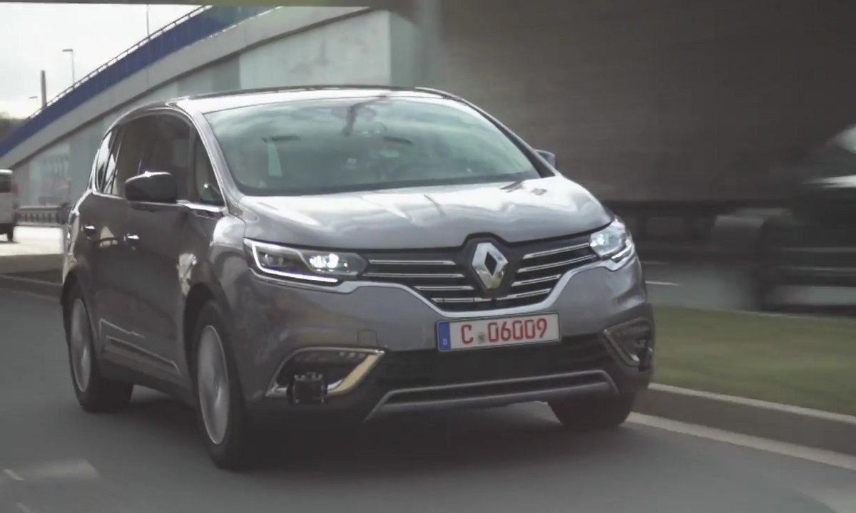 Renault présente un prototype d'Espace autonome