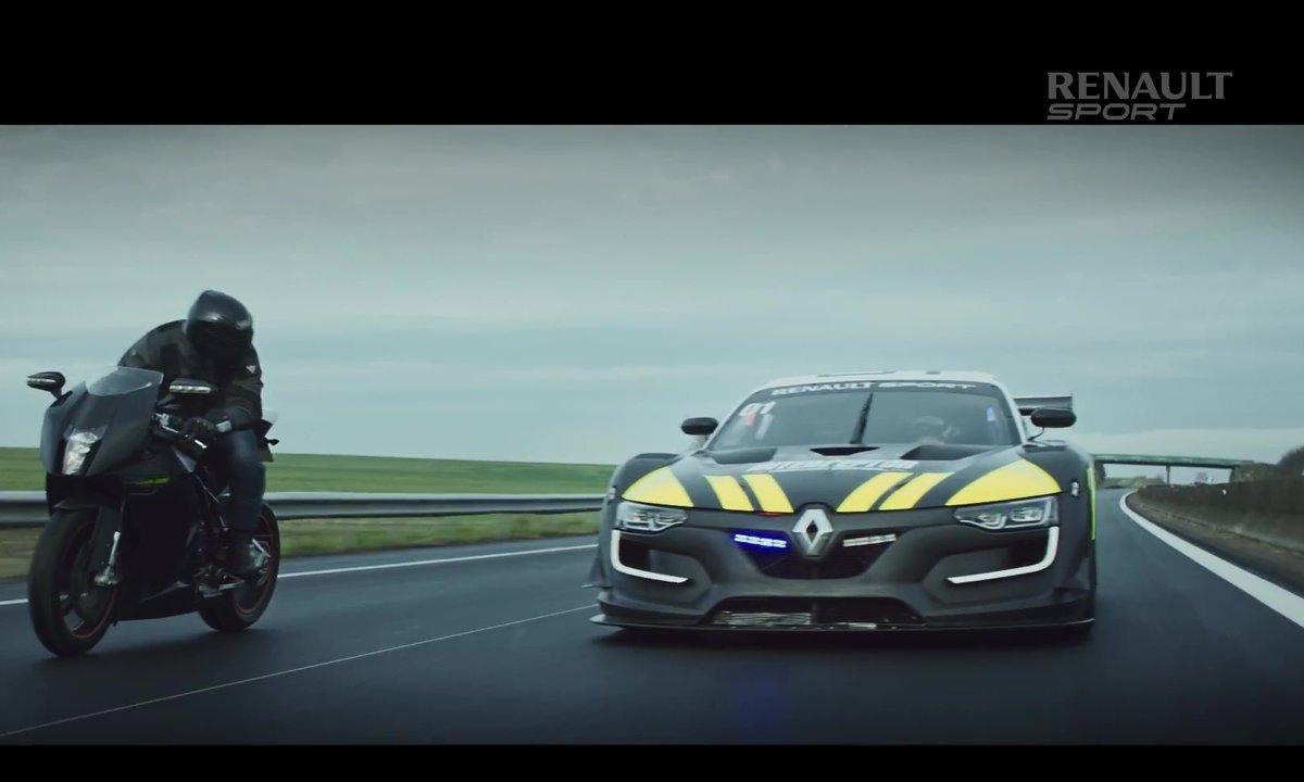 Insolite : Renault R.S. 01 et Jean Ragnotti se la jouent Patrouille d'intervention