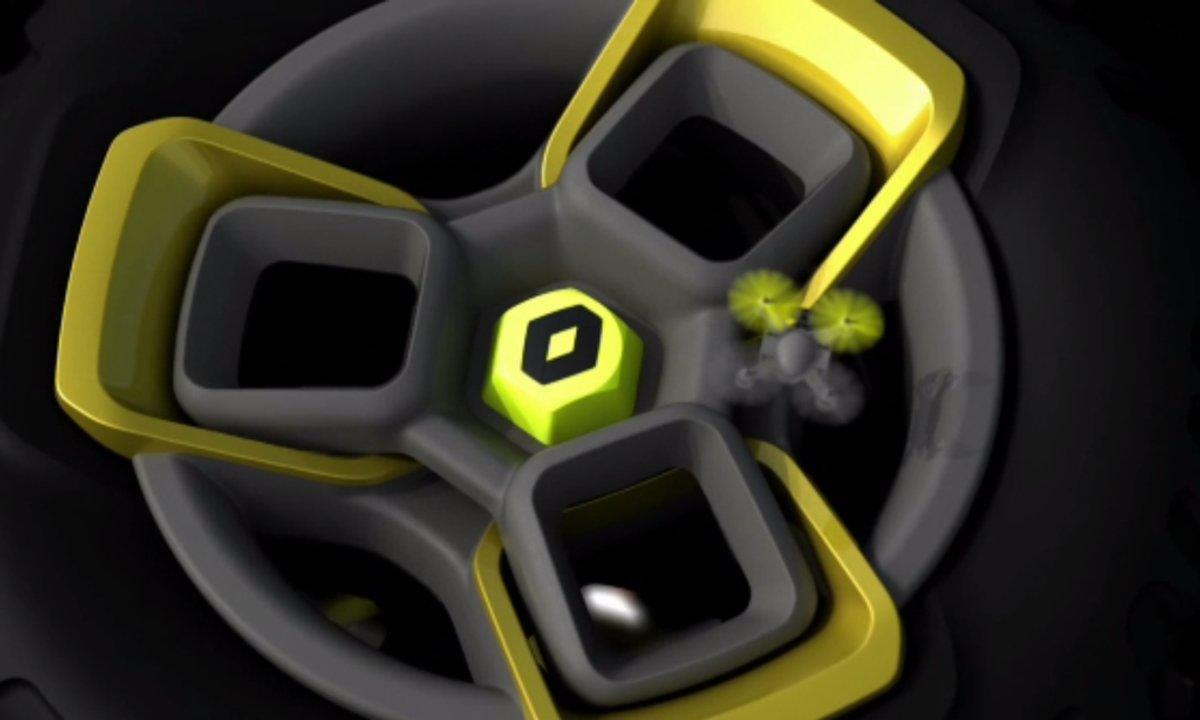 Renault : teaser du concept-car de New Delhi 2014
