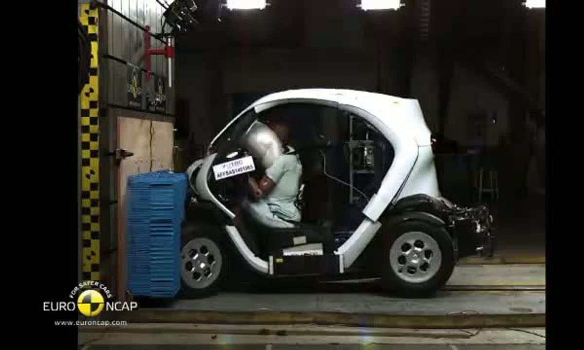 Crash-Test EuroNCAP 2014 : la Renault Twizy testée