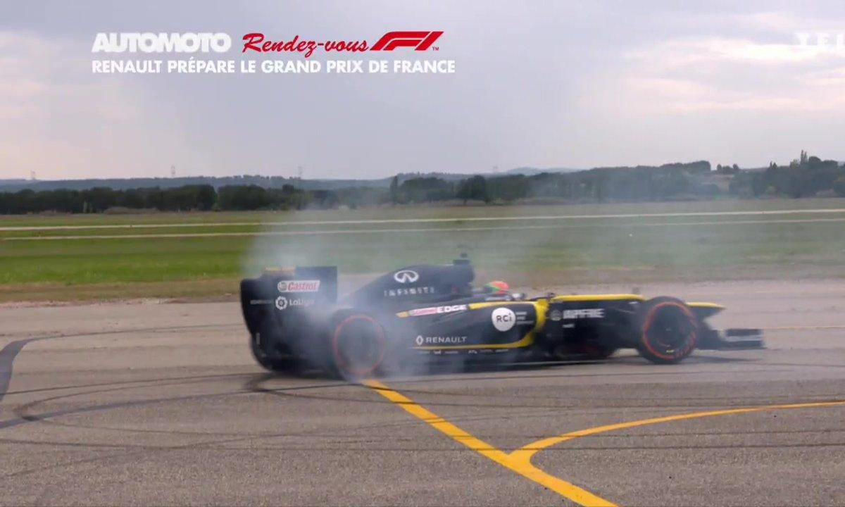 Rendez-vous F1 - Renault prépare le retour du Grand Prix de France