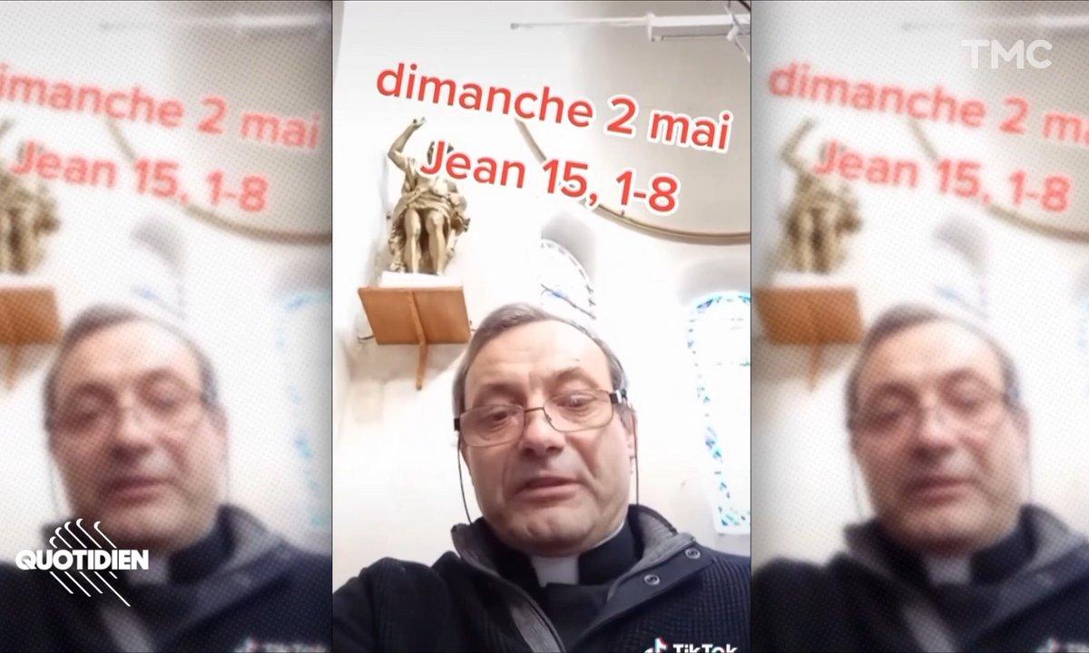 Rencontre avec le père Thierry-Louis Lacomb, doyen des prêtres Tik-Tokeurs