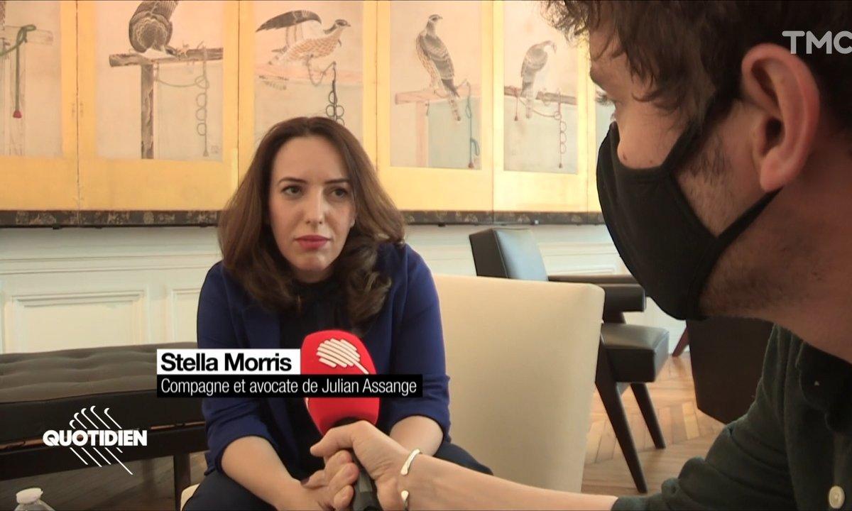 Rencontre avec Stella Morris, avocate et compagne de Julian Assange