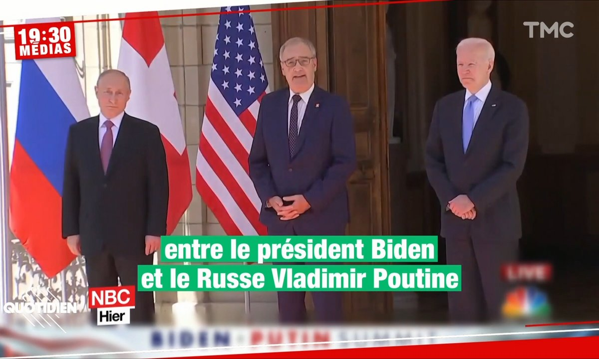 Rencontre Biden-Poutine : l'objectivité des médias russes