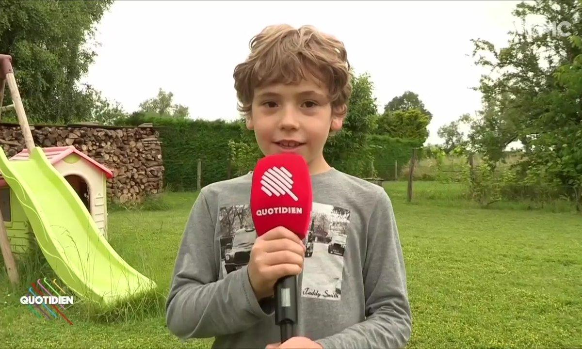 Bienvenue chez Jacques, 7 ans, qui interpelle Macron sur le glyphosate