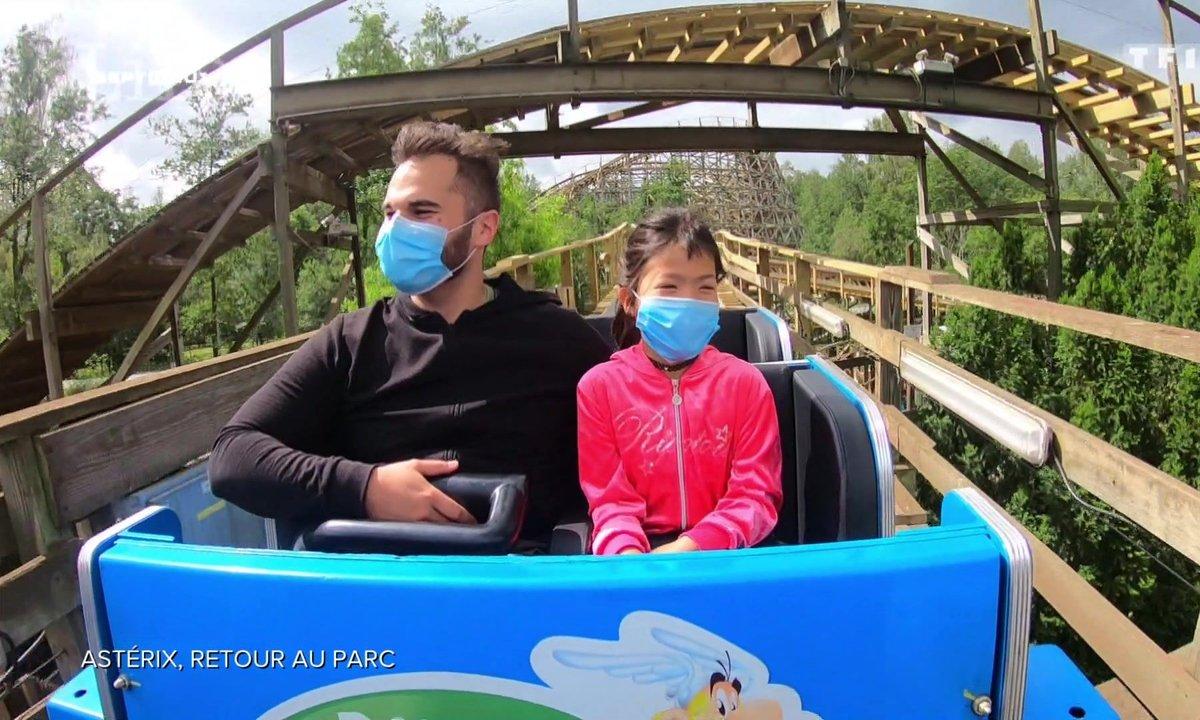 Réouverture du parc Astérix : entre mesures sanitaires et retour des sensations fortes