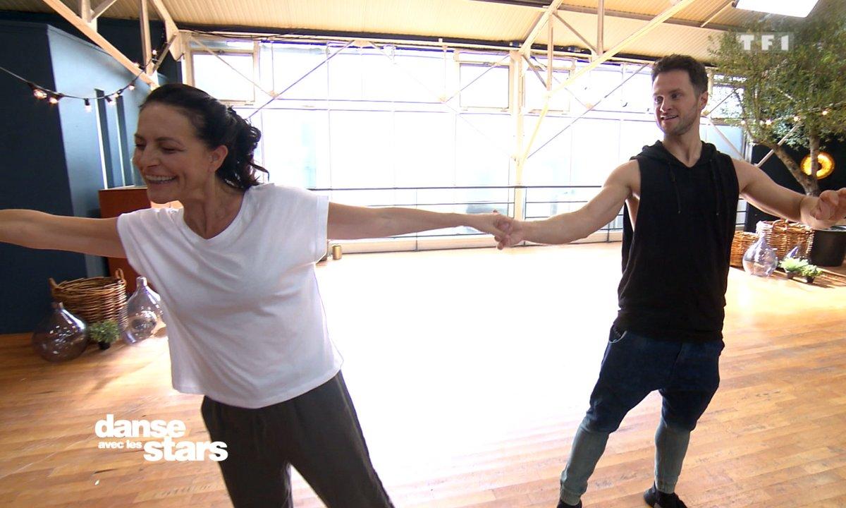 Répétitions – Lio et Christian : une danse pleine d'émotion…