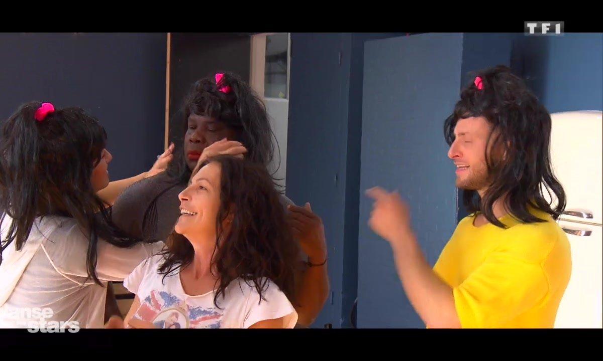 Ambiance Banana Splitz en répétitions pour Lio et Christian Millette