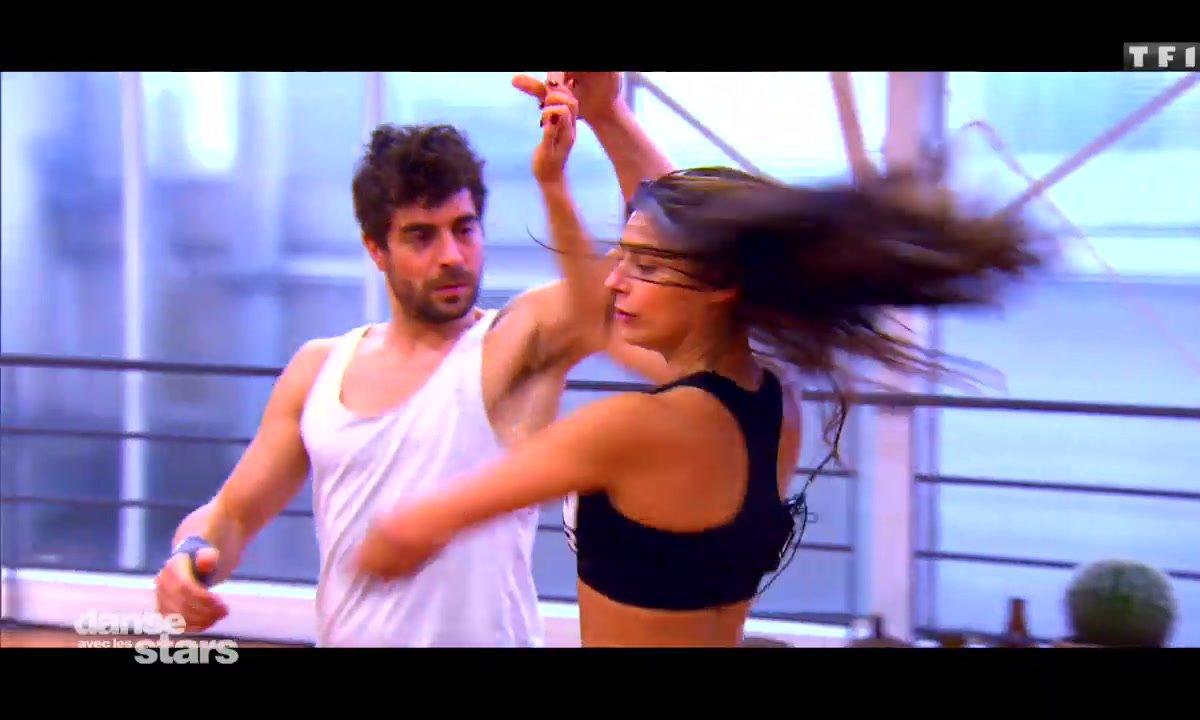 Répétitions : Agustin Galiana et Candice Pascal ont bougé leur body