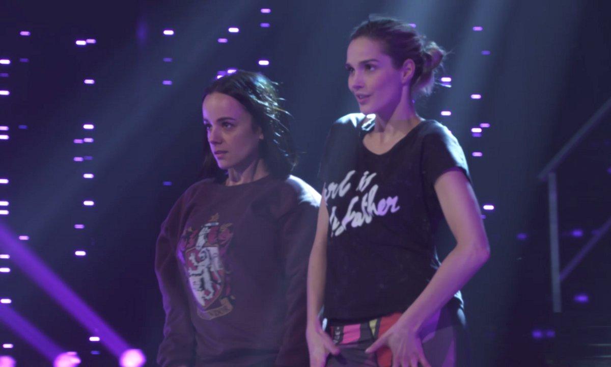 Camille Lou et Alizée : Leurs répétitions plateau