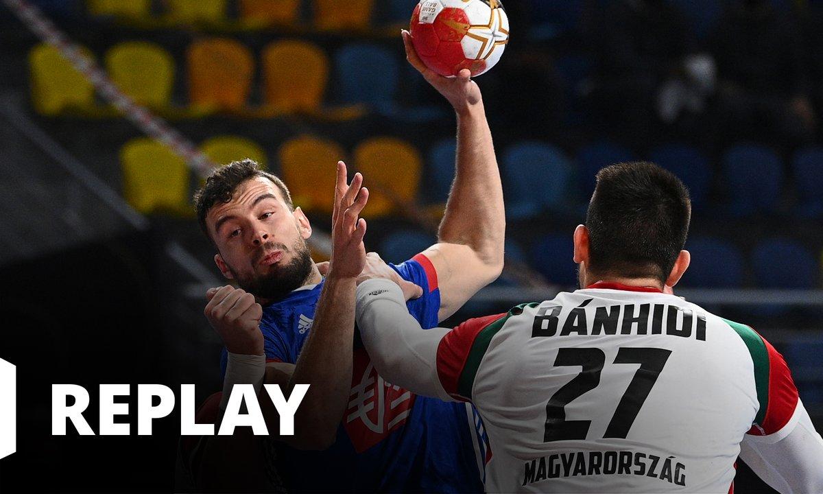 Handball Championnat du monde masculin - 1/4 Finale France / Hongrie