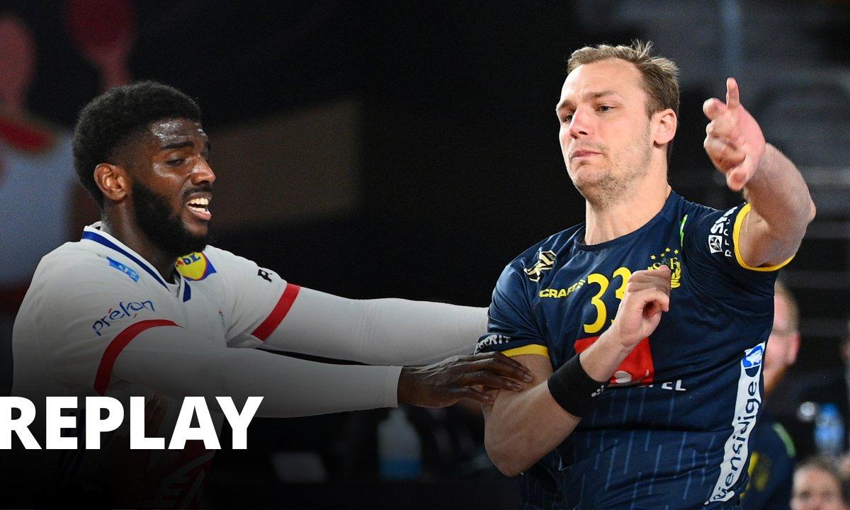 Handball Championnat du monde masculin - 1/2 finale : France / Suède