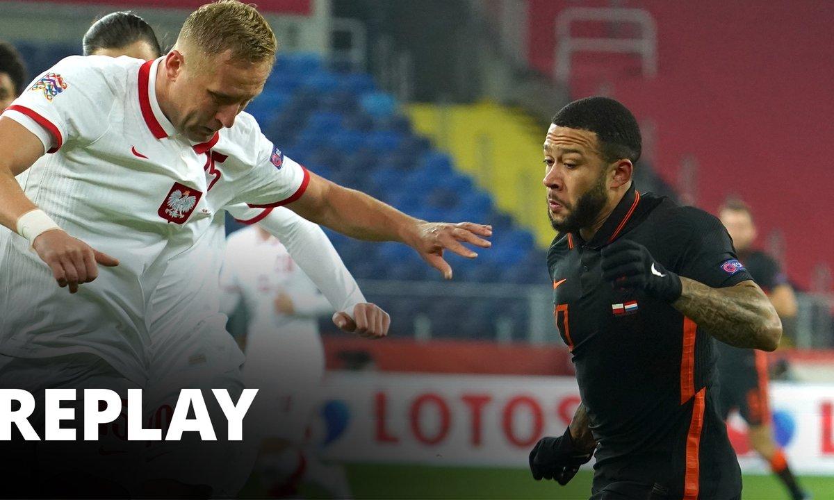 Match Ligue des Nations Pologne / Pays-Bas