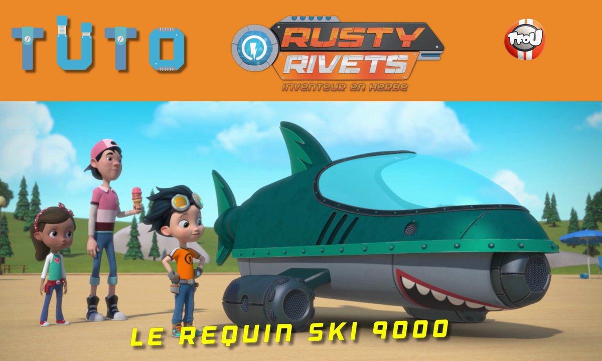 Les tutos de Rusty Rivets: Le Requin Ski 9000 !